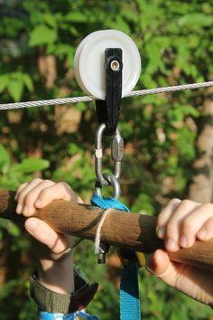Backyard Zip-Line for Kids