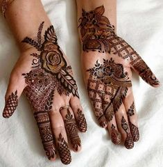 1000 Simple and Easy Henna Tattoo Designs for Brides on Wedding. Latest collection henna tattoo designs with various pattern and style for brides on wedding Henna Hand Designs, Dulhan Mehndi Designs, Mehandi Designs, Mehndi Designs Finger, Mehndi Design Pictures, Mehndi Designs For Girls, Wedding Mehndi Designs, Mehndi Designs For Fingers, Latest Mehndi Designs