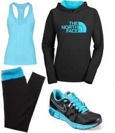 Workout clothes I love the shoes