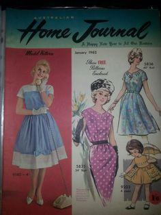 Australian home journal January 1962 cover