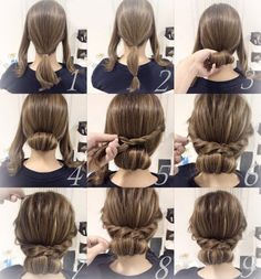 Just beautiful. Hairstyles for each day.