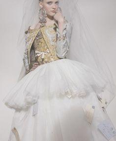 Christian LaCroix Haute Couture.