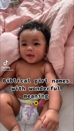 Unique Names For Girls, Unique Biblical Baby Names, Cute Unique Baby Names, Baby Girl Names Uncommon, Beautiful Baby Girl Names, Baby Girl Names Unique, Rare Baby Names, Biblical Names, Pretty Names