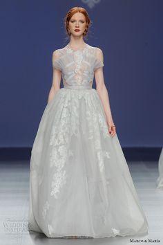 Marco & Maria Bridal 2016 Wedding Dresses | Wedding Inspirasi