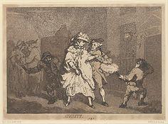 Civility  Thomas Rowlandson (British, London 1757–1827 London)  Date: 1787…