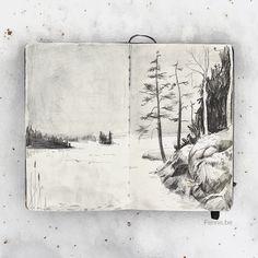 Inside my sketchbook – Fenne