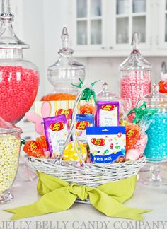 No Easter basket is complete without a collection of Jelly Belly jelly beans!
