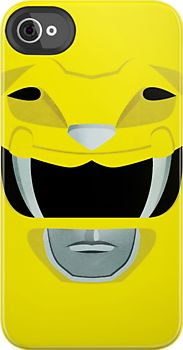Yellow Ranger iPhone Case (http://www.redbubble.com/people/gallantdesigns/works/9121151-yellow-ranger)