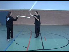 Single Handed Medieval Sword Hanging Parry Right Hand Side