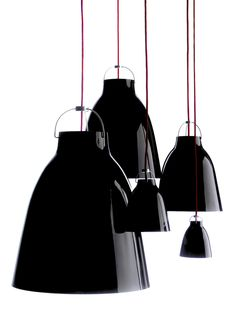 carravagio lamp by cecilie manz for lightyears. 2005.