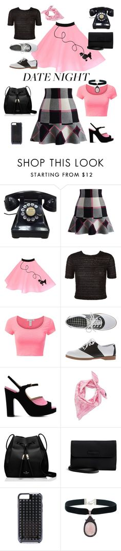 """""""FRIDAY NIGHT LIGHTS"""" by carolsha ❤ liked on Polyvore featuring Chicwish, New Look, Moschino, Echo, Kate Spade, Vera Bradley and Rebecca Minkoff"""