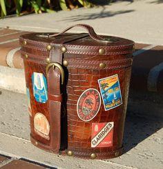 Mini Vintage Travel Steam Trunk  by myfavoritefairytale on Etsy, $50.00