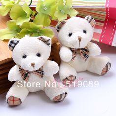 atacado malha ursinho de pelúcia pingente altura sentado 9cm urso de pelúcia brinquedos para keychain/pacote cadeia/brindes promocionais em ...