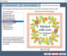 Lesson: Editing the Quilt Labels Quick Quilt Project Electric Quilt, Quilt Labels, Easy Quilts, Quilt Tutorials, Quilt Making, Quilting Projects, Articles, Support, Tips