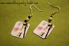 Dirty Dancing Earrings by Shanana on Etsy, $15.00