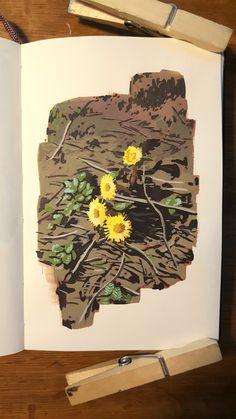 5-4-19 Gouche Painting, Bel Art, Posca Art, Arte Sketchbook, Guache, Art Design, Pretty Art, Aesthetic Art, Oeuvre D'art
