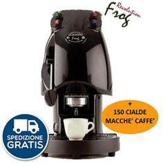 MACCHINA CAFFÉ CIALDE FILTRO CARTA 44MM DIDIESSE FROG BASE + 150 MACCHÉ A SCELTA