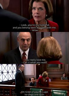 Moments like these make me want to go back and re watch this amazing show - Arrested Development
