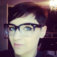 Pixie with glasses