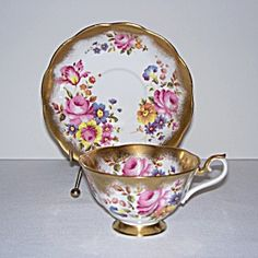 Royal Albert Floral Tea Cup and Saucer. Click on the image for more information.