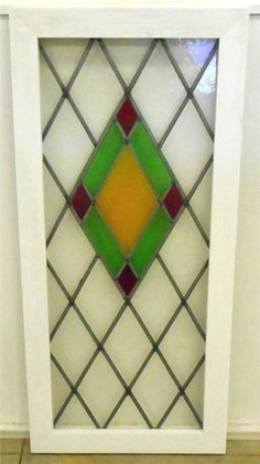 Image result for edwardian stained glass diamonds