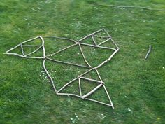 Scale and Geometric Patterns with Sticks | Creative STAR Learning | I'm a teacher, get me OUTSIDE here!