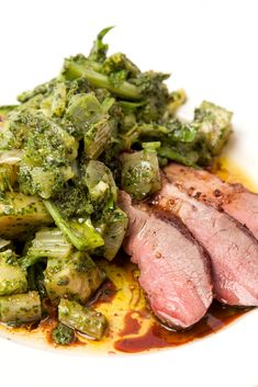 Jeremy Lee's leg of lamb recipe makes a fantastic, fuss-free alternative to a traditional Sunday lunch, with a one pot pan of braised vegetables served alongside succulent slices of roast lamb.