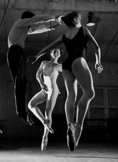 Atelier Robert Doisneau | Galeries virtuelles des photographies de Doisneau - Danse