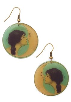 Date of Your Dreams Earrings, #ModCloth
