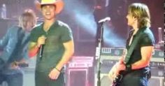 Dustin lynch, Keith urban and A girl on Pinterest