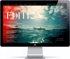 Web Design Inspiration – Edition Hotels