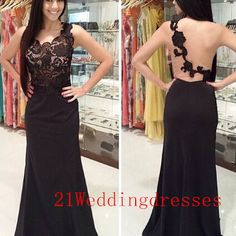 New arrival black lace prom dresses,long prom dresses,one shoulder prom dresses,backless prom dresses,prom gowns,evening gowns
