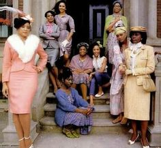 Women of Brewster's Place. Powerful movie, yet women still struggle with the same issues. Damn shame.