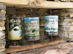 humble and perfect:  milk can prayer wheels