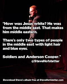 Jesus was not white.