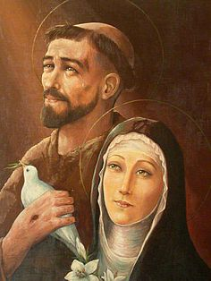 Francisco amava muito a seus amigos, que amavam Francisco.  Um dia, Francisco começou a amar muito a Jesus, que amava a Francisco e a todos...