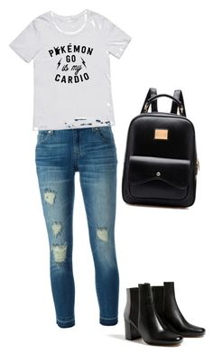 """""""Collage life"""" by marta-isabella ❤ liked on Polyvore featuring MICHAEL Michael Kors"""