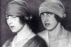 Princesses Helene and Irene of Greece and Denmark