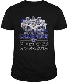 Dallas cowboys team 2018 NFC east division champions shirt - Kingteeshop 090bacddd