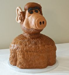 Check out this awesome ALF groom's caky by LoveMeSomeCake615 on CakeCentral.com