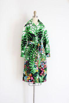vintage 1970s LANVIN dress // 70s designer dress by TrunkofDresses
