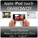 FREE Blogger Signup: Apple iPod Touch Giveaway