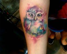 tatuagem aquarelada