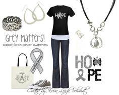 Grey Matter- Brain Cancer Awareness