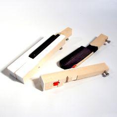 Bottle Opener - upcycled Piano Key