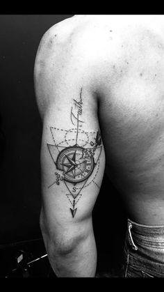 tattoo designs men arm - tattoo designs _ tattoo designs men _ tattoo designs for women _ tattoo designs unique _ tattoo designs men forearm _ tattoo designs men sleeve _ tattoo designs men arm _ tattoo designs drawings Tricep Tattoos, Forearm Tattoos, Arm Band Tattoo, Body Art Tattoos, Hand Tattoos, Maori Tattoos, Tatoos, Compass Tattoos Arm, Compass Tattoo Design
