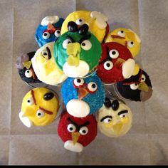"My Angry Birds—""Birds Eye View"" :)"