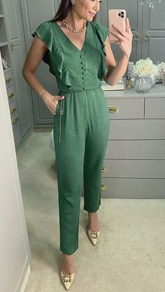 Summer Work Outfits, Jumper, Jumpsuit, Shorts, Jeans, Lace, Womens Fashion, Clothes, Dresses