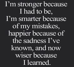 I keep learning and growing and loving
