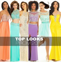 top trends for prom dresses 2014 by camille la vie